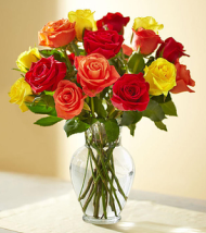 Autumn Rose Bouquet